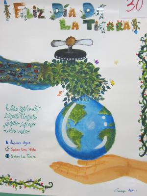 Winners Of The Earth Day Poster Contest 2015