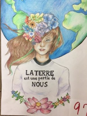 Earth Day Foreign Language Poster Contest Winners